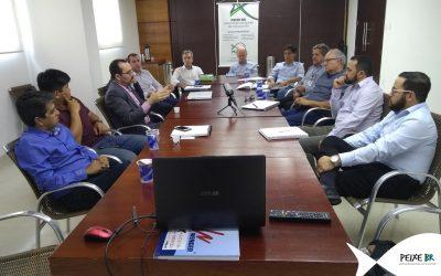Exportação de pescado e Nova SEAP são temas de reunião da PEIXE BR