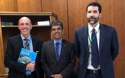 Peixe BR reuniu-se com Embrapa e MAPA, em Brasília