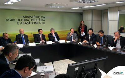 Peixe BR participa de reunião de avaliação do Plano Agro+ no MAPA