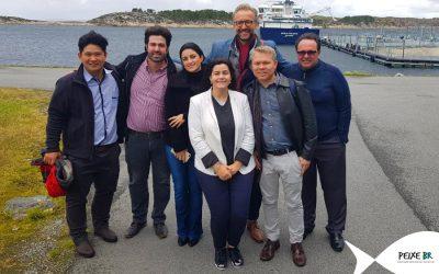 Empresários da indústria pesqueira tentam fomentar negócios na Noruega