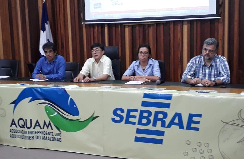 Aquam e Sebrae promovem Worshop de Piscicultura em Manaus