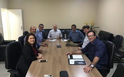 Francisco Medeiros reúne-se com produtores e vice governador do Mato Grosso