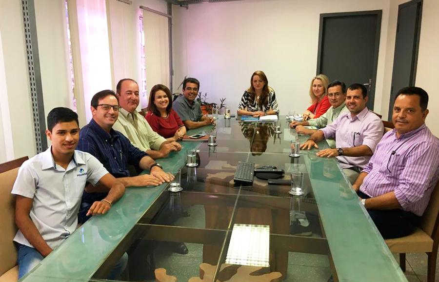 Associados da PEIXE BR e AQUAMAT participaram da reunião com a Secretária de Meio Ambiente do estado de Mato Grosso