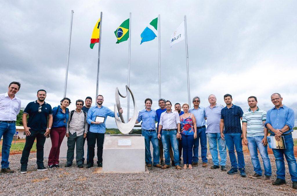 Francisco Medeiros e Jorge Seif Júnior, Secretário Nacional de Pesca e Aquicultura do MAPA, visitam empresas de aquicultura.