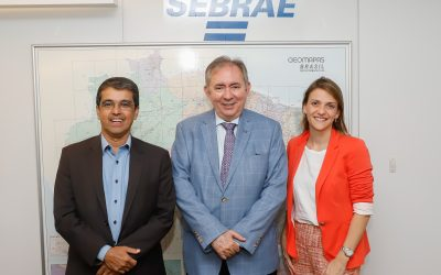 Peixe BR foi recebida pelo presidente nacional da Sebrae