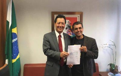 PEIXE BR apresenta demandas para o Presidente da Frente Parlamentar do Pescado