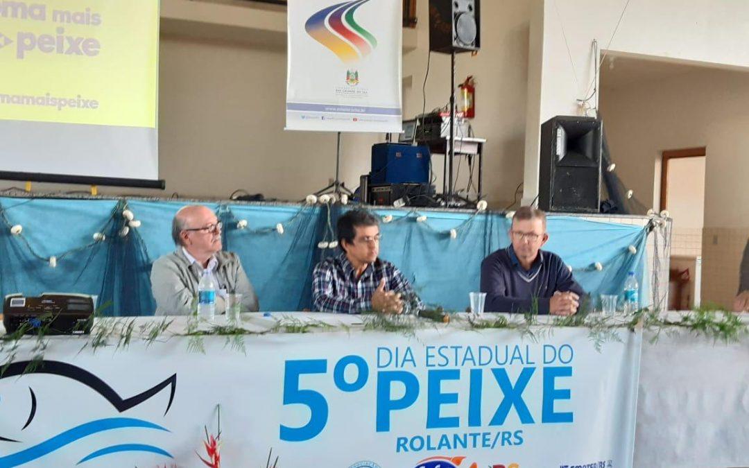 PEIXE BR participa do 5° Dia Estadual do Peixe