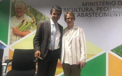 Peixe BR leva demandas urgentes da piscicultura à ministra Tereza Cristina